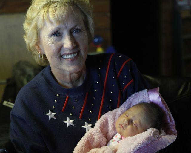 Great-Grandma Kathy