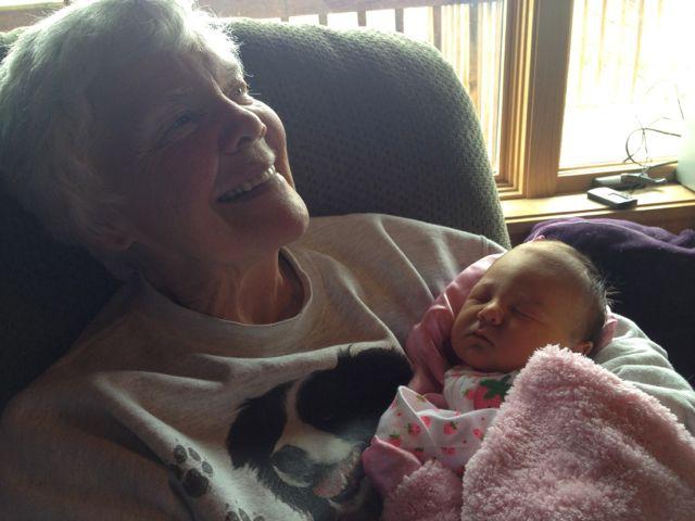 Great-Grandma Mary