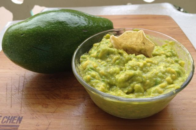 An avocado, a little lime, seasoned to taste with onion power and salt = magic. Credit to Aimee Blackburn for a recipe that lets the avocado speak for itself. Muchas gracias amigo!